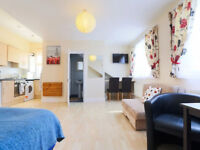 Lovely Studio Apartment-Ideal for Student/Couple/Family - Hampstead - NW3.