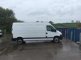 BREAKING 2008 RENAULT MASTER 2.5 DCI FOR PARTS