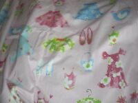 Girls Pretty Pink Blackout Curtains L57inches x W75inches