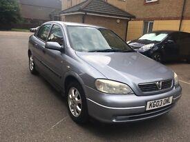 Vauxhall astra 1.6 2003 LOW MILLAGE 80k