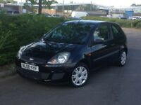 2008 FORD FIESTA 3 DOOR 1.2 BLACK **LOOKS AND DRIVES GREAT** *CHEAP RUNNING COSTS*