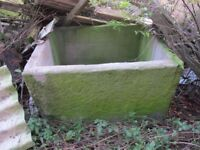 Large Stone Trough