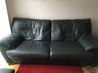 Quality 3 piece leather suite