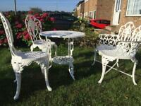 Table chairs and Bench Set