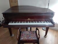 John Broadwood & Sons Baby Grand Piano