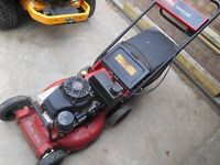 Toro commercialheavy duty lawn mower petrol 21 inch cut Mulch or Collect grass
