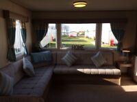 8 berth de-lux caravan for hire. Seton Sands holiday park, Port Seton, 15 miles from Edinburgh