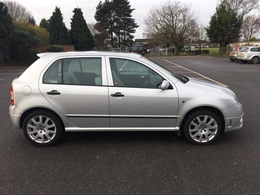 2006 SKODA FABIA VRS TDI PD 130 SILVER Very decent condition, 2 owner car  from