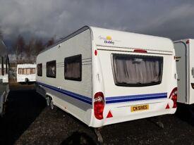 Hobby prestige 5 berth caravan