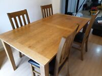 Dinning Table, Side Tables and Chairs