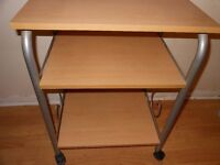 3 tiered trolley/tv stand
