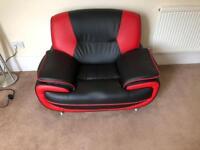 Matching chair & sofa