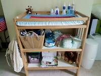 Baby changing unit (Excellent wooden furniture!)