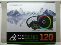 GAMEMAX Iceberg 120 CPU Water Cooling System NEW - SEALED
