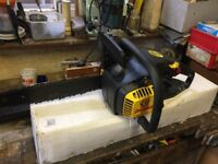 McCulloch Mac Cat 839 petrol chainsaw