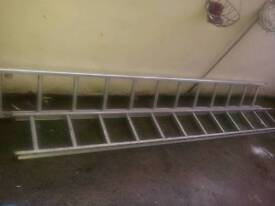 Double ladders.good condition