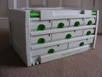 Festool SYS 3 Systainer Sortainer 9 Drawer 491985