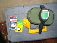 Depthfinder Smartcast Wristwatch. Used just twice. Gives location of fish as well as depth. £70.