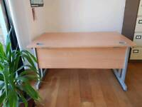 Large single office desk