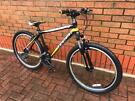 """Indigo Surge 26"""" 21speed front suspension mountain bike cycle bicycle size small"""