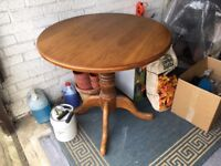 dining table, wooden 4 seater
