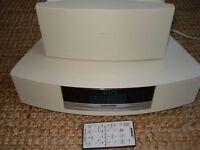Bose Wave Music System Awrcc6 + DAB module. Am/Fm Radio, CD Player & Alarm + Remote