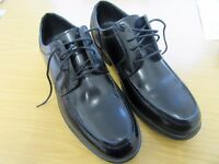 M&S Men's Lace Up Black Shoes - Size 8 - Worn Once