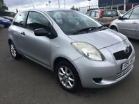 (56) Toyota YARIS 1.0 , mot-December 2018 ,only 37,000 miles , 2 owners ,jazz,polo,fiesta,corsa,clio