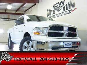 2012 Ram 1500 SLT / 4x4 / Lift / Rubber / Financing Available