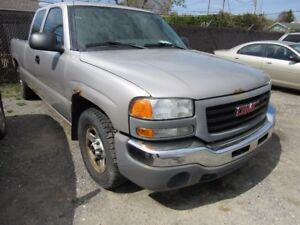 2004 GMC SIERRA 1500 SLE 4.8 L Rear Wheel drive 163,000 KM