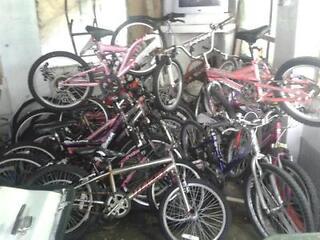 25 bikes
