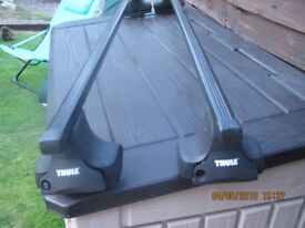 THULE ROOF BARS FOR A NISSAN NOTE