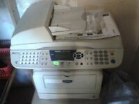 Printers - BROTHER MFC - 8420 LASER PRINTER/COPIER/SCANNER/FAX & EPSON C1100 COLOUR LASER PRINTER