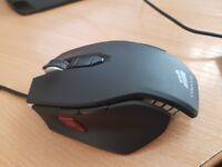 Corsair Vengeance M65 Performance FPS Gaming Mouse, Gunmetal Black