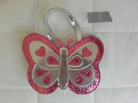 Zipped butterfly bag, new
