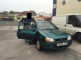Ford Fiesta Freestyle 1,25 - 2001
