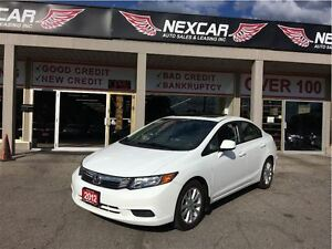 2012 Honda Civic EX 5 SPEED A/C SUNROOF ONLY 159K