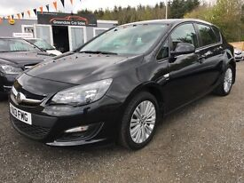 2013 Vauxhall Astra low mileage Bluetooth, 12 Months Warranty, Finance Available