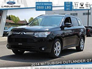 2014 Mitsubishi Outlander **GT*7 PASSAGERS*AWD*CUIR*TOIT *CAMERA
