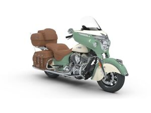2018 Indian Motorcycles Roadmaster Classic Willow Green/ Ivory C