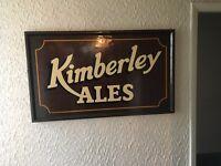 Rare local pub memorabilia