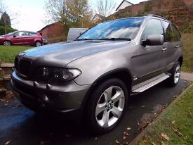 BMW X5 3.0 i SPORT AUTO Ideal car for the coming winter fully loaded 4x4 Long mot