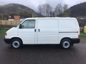 Volkswagen transporter t4 2.5 tdi 888 special only 45000