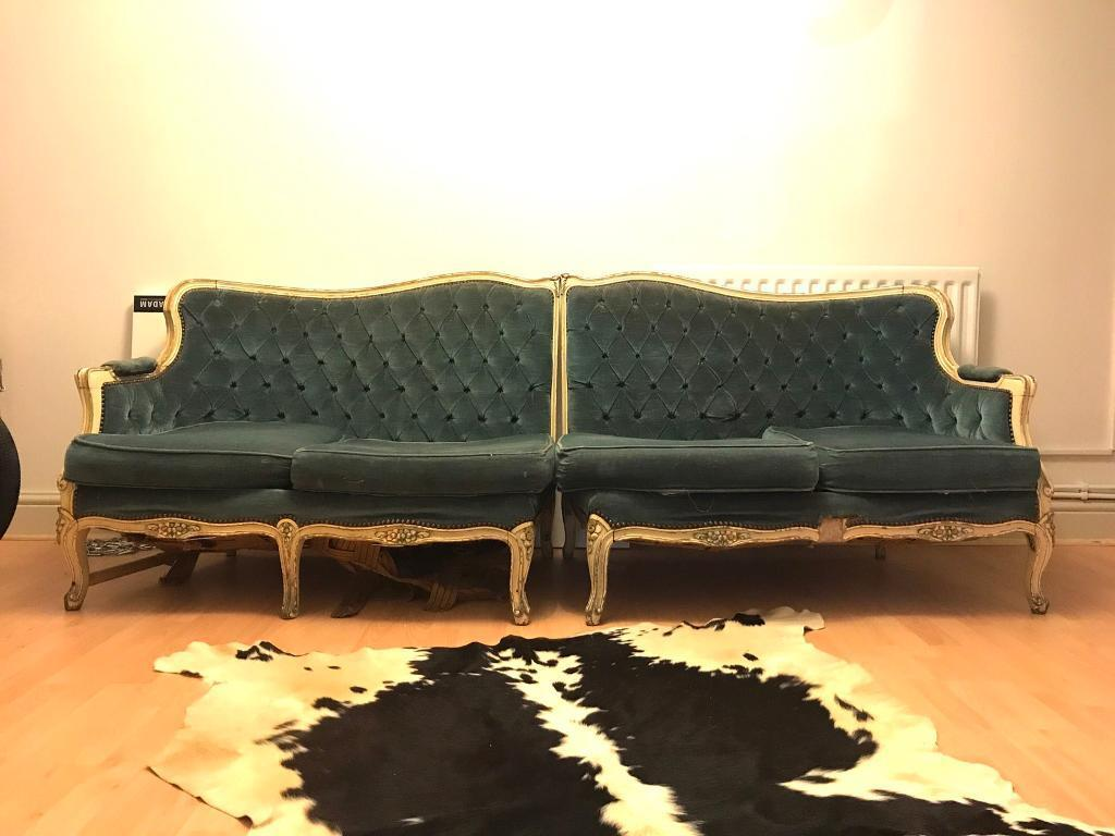Beautiful Antique Sofa in need of some love and care