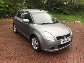 06 REG SUZUKI SWIFT 1.5 GLX 5DR-2 KEYS-HISTORY INC TIMING BELT- KEYLESS GO & ENTRY-DRIVES GREAT