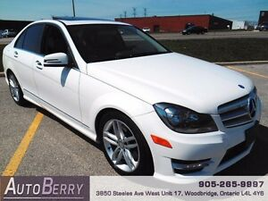 2013 Mercedes-Benz C-Class 4MATIC **ACCIDENT FREE & CERTIFIED **