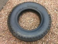 6.50 x 16 cross-ply tyre