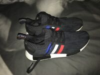 Adidas NMD R1 Tri-Colour Black UK10
