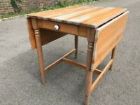 IKEA INGATORP Table drop-leaf table 78x75 cm