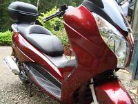 HONDA S-WING 125 2009 model.